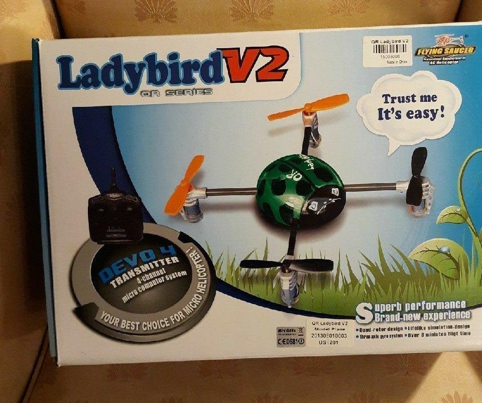 Walkera QR Ladybird V2 Micro Drone
