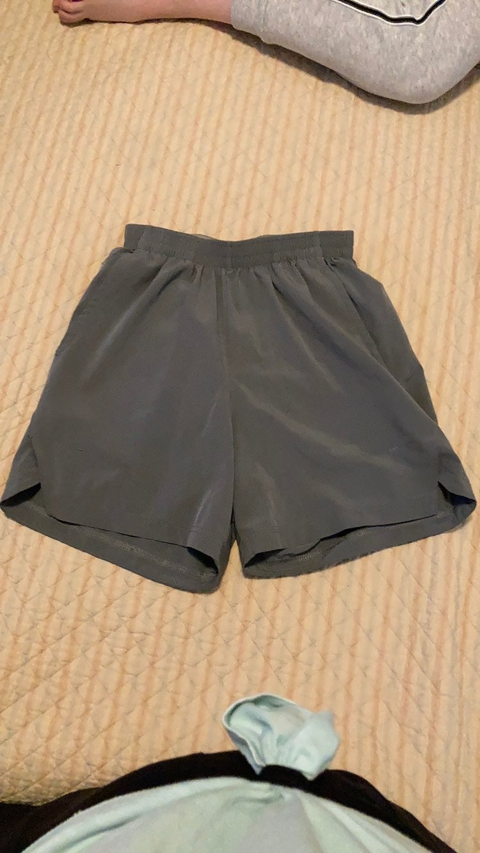 Champion Mens grey running shorts size s