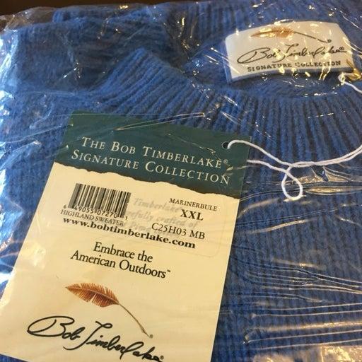 Bob Timberlake Golf Sweater 80% Lambwool