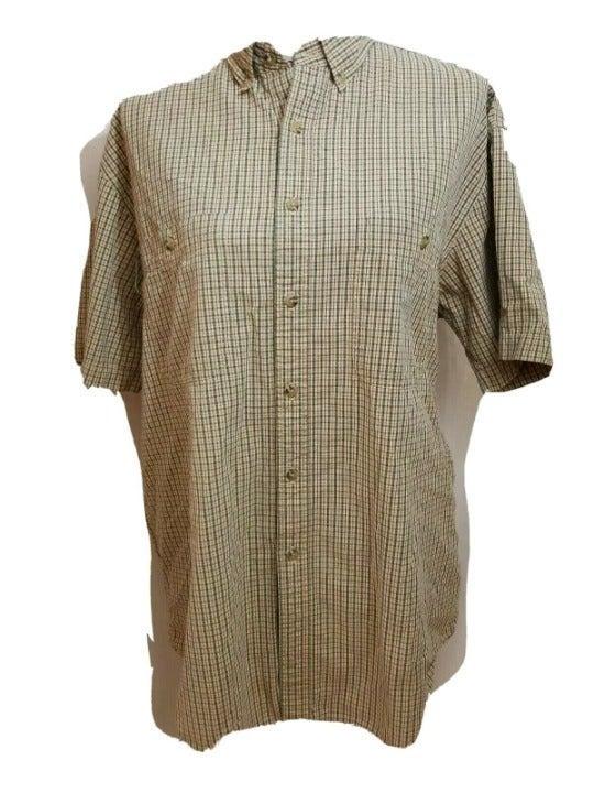 LL Bean Shirt Mens Size Medium Regular