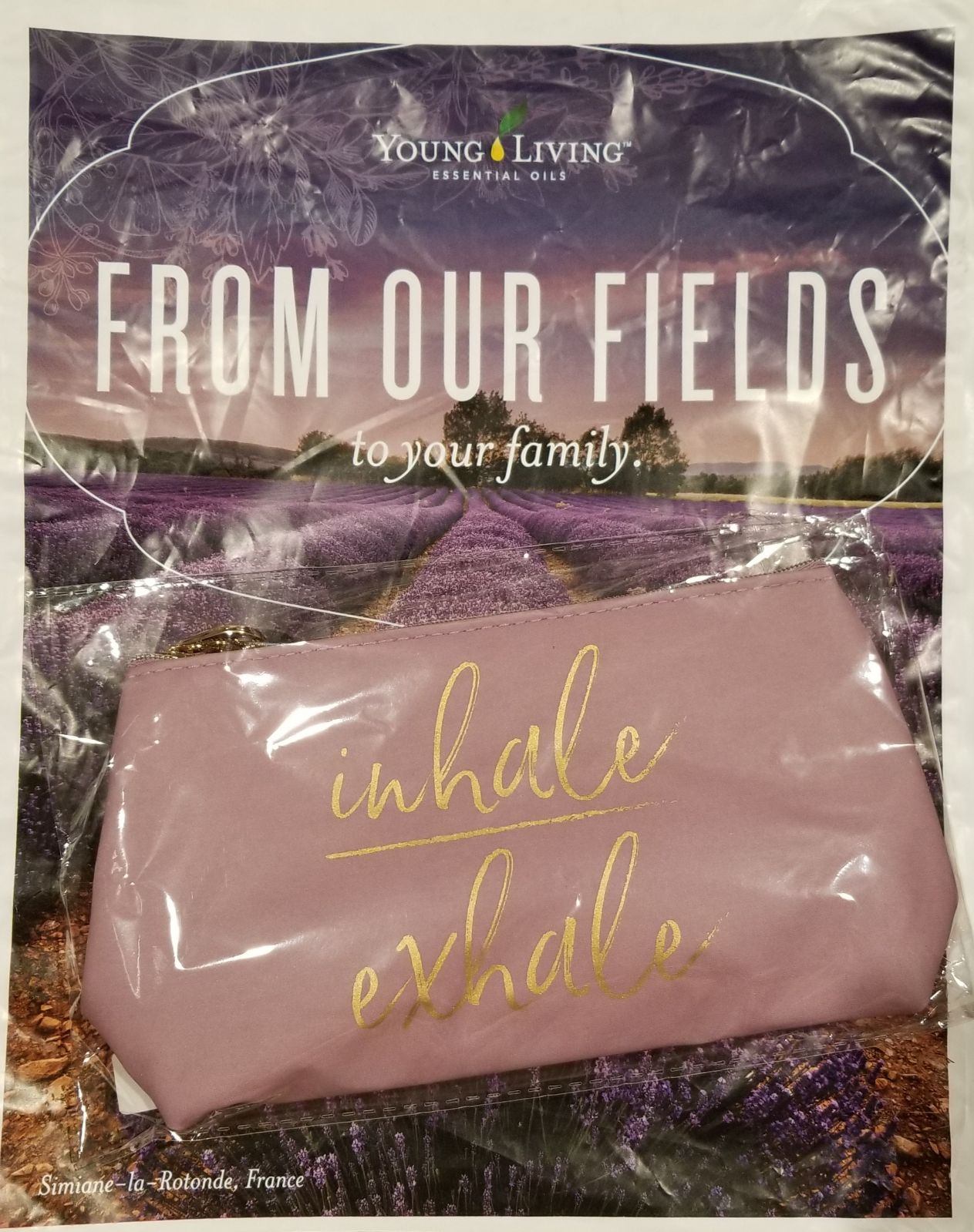 Young Living Essential oil travel bag