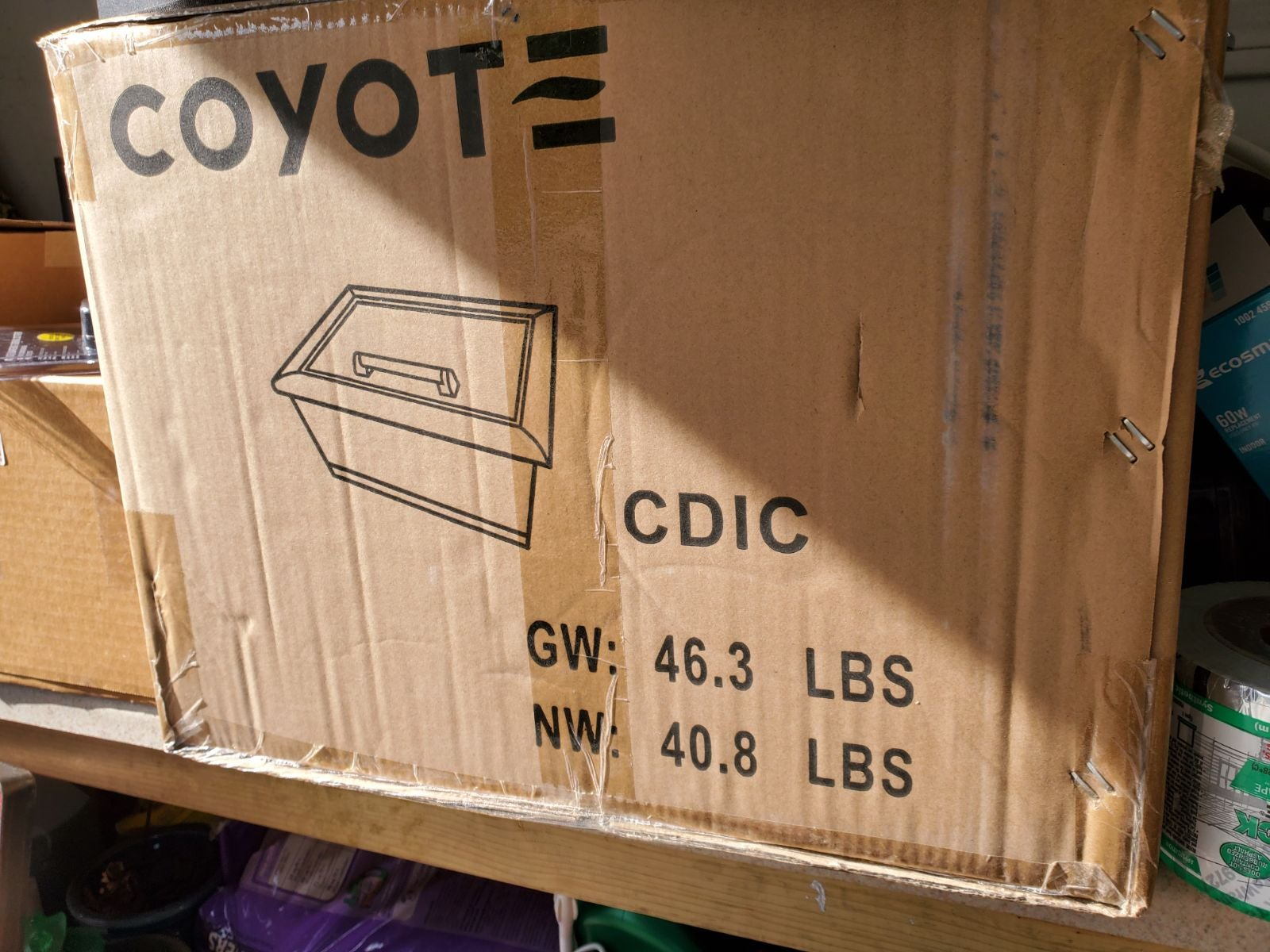 NIB Coyote drop in cooler. CDIC Stainles
