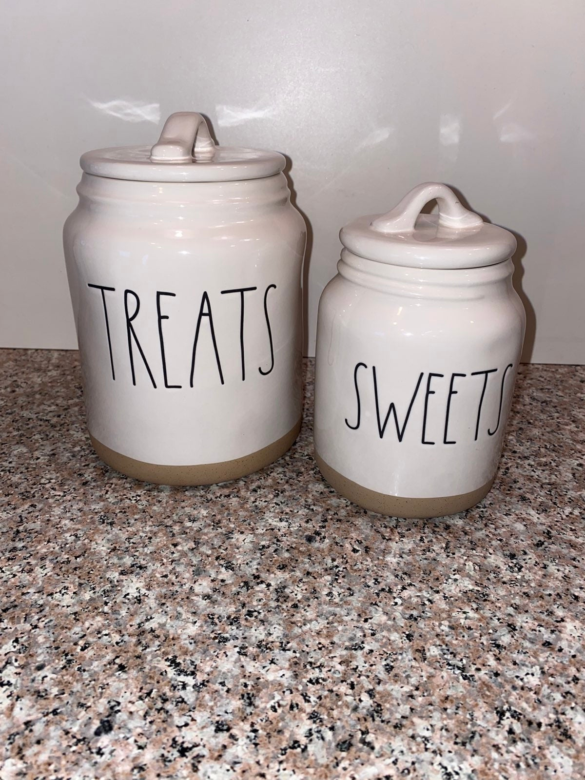 Rae Dunn Sweets and Treats Canisters
