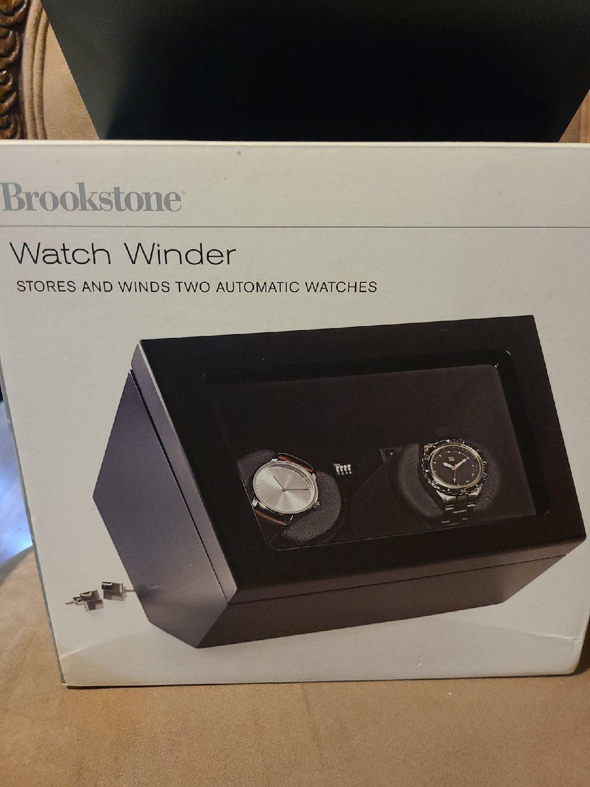 Brookstone Automatic Watch Winder