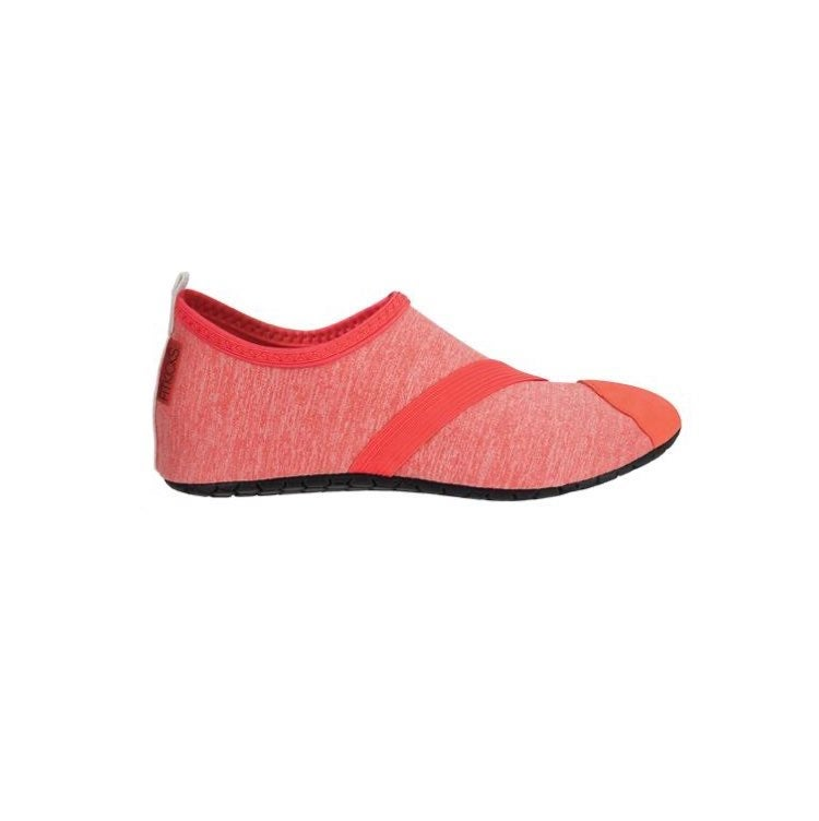 NWOB Fitkicks Live Well Pink Yoga Flats