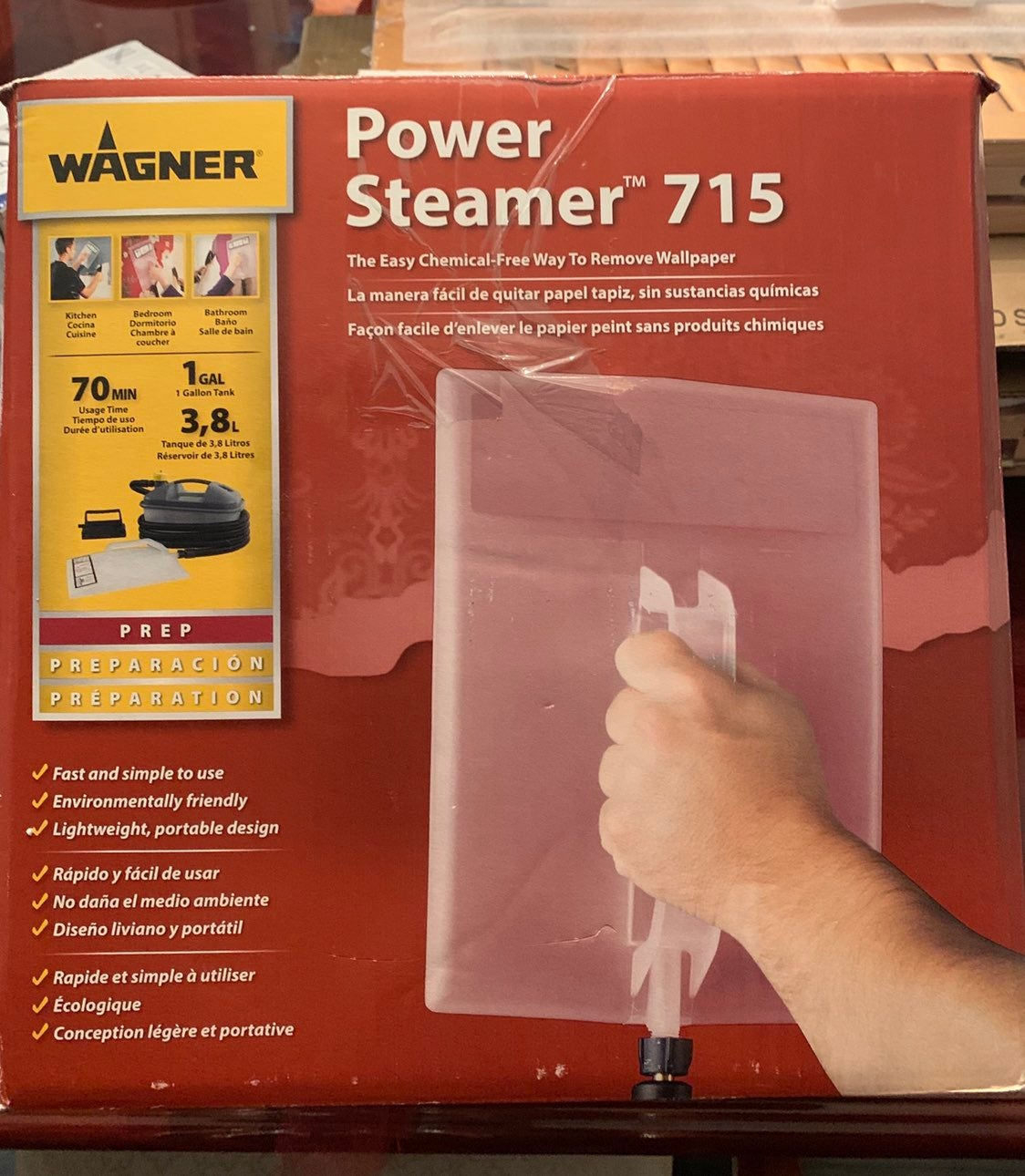 Power Steamer 715