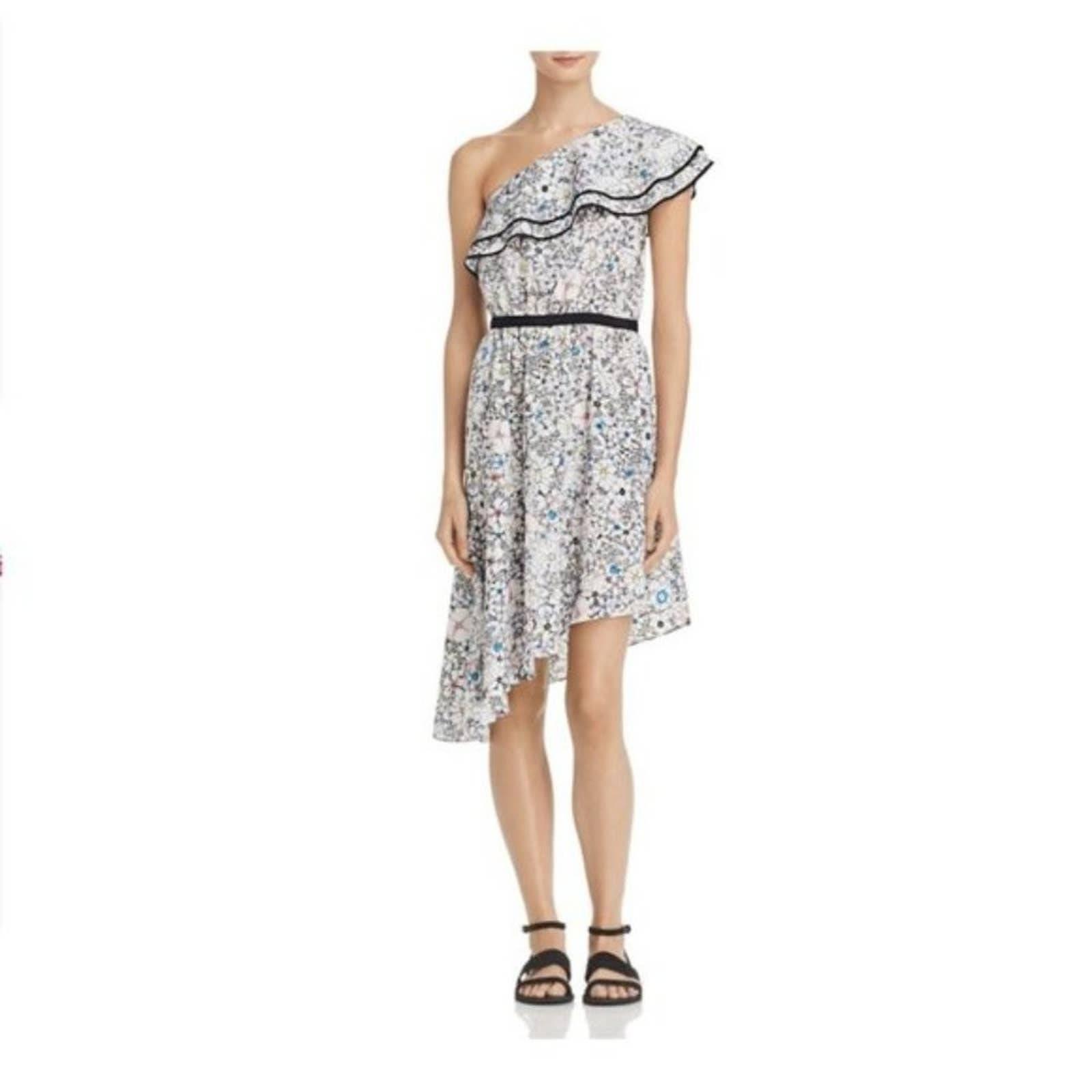 Likely Contour Daisy Floral Dress sz 10