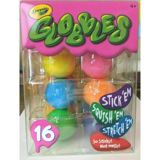 Crayola Globbles 16 Count Squish Toys