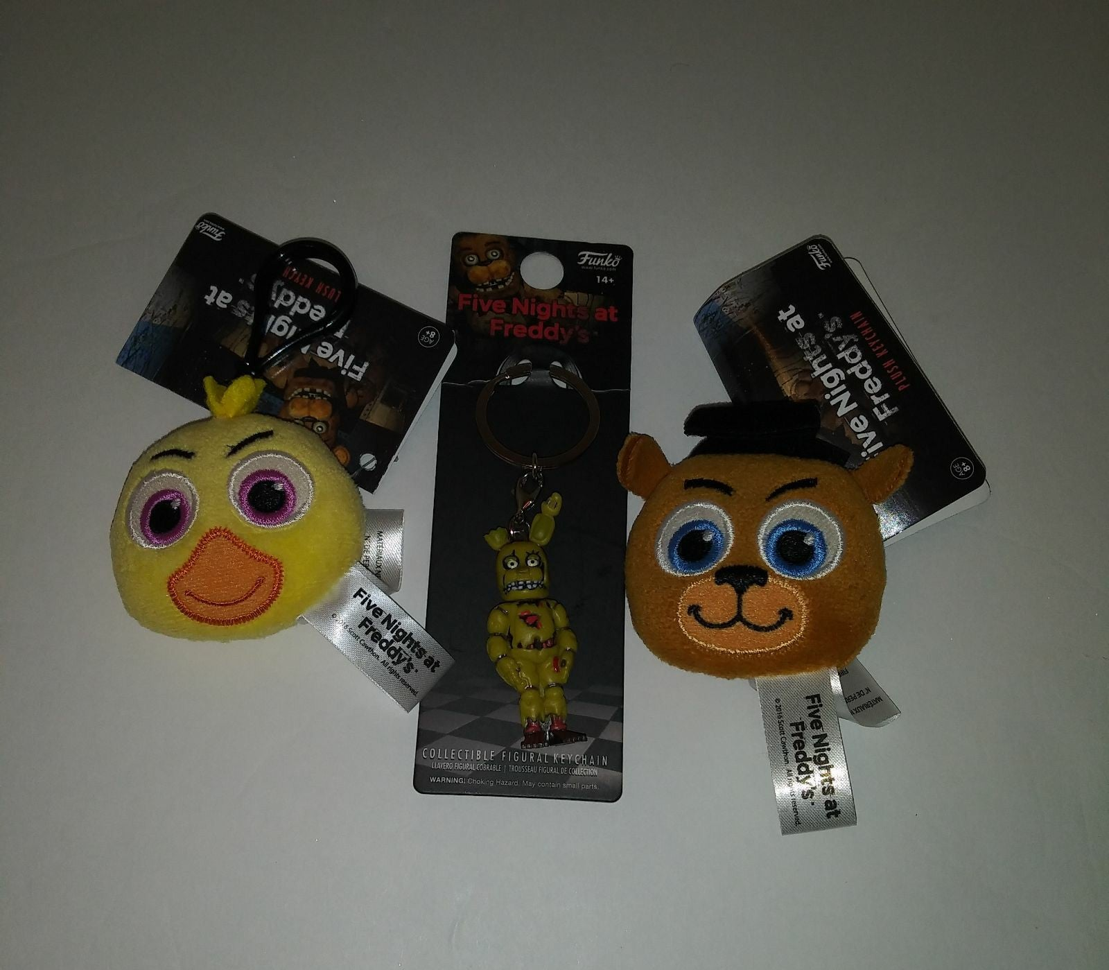 Five Nights at Freddy's Funko Keychains