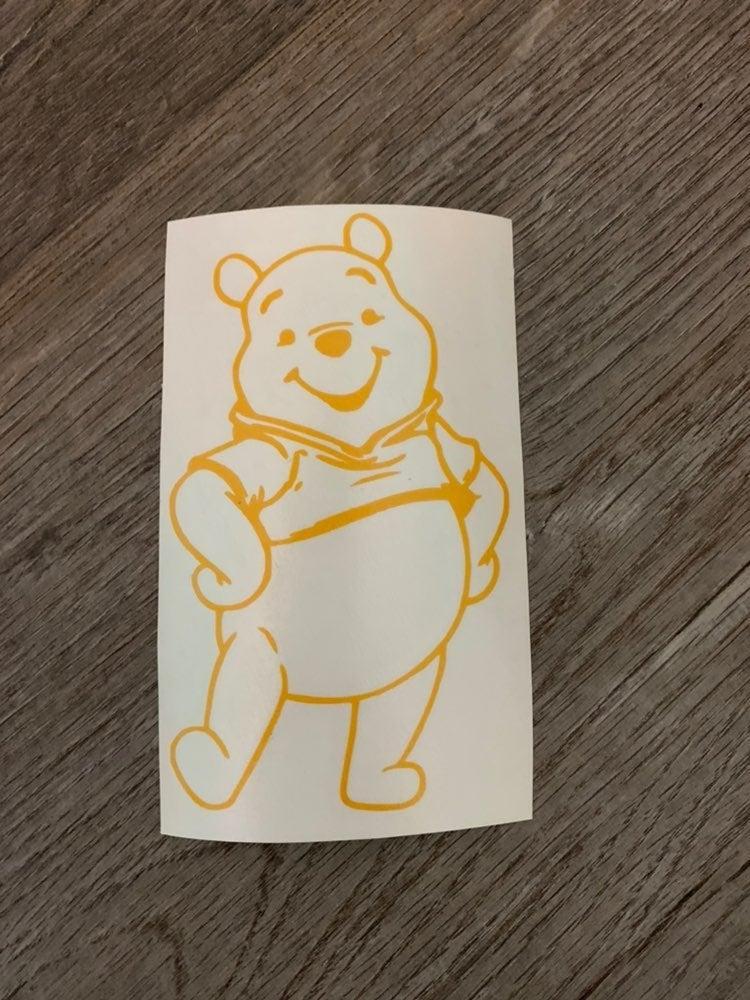 Pooh vinyl decal