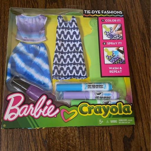 Barbie Crayola Tie Dye Fashion