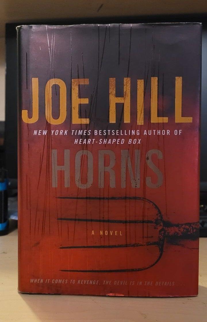 HORNS hardback novel Joe Hill horror