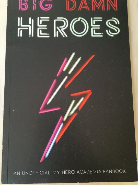 My Hero Academia Zine and Merch