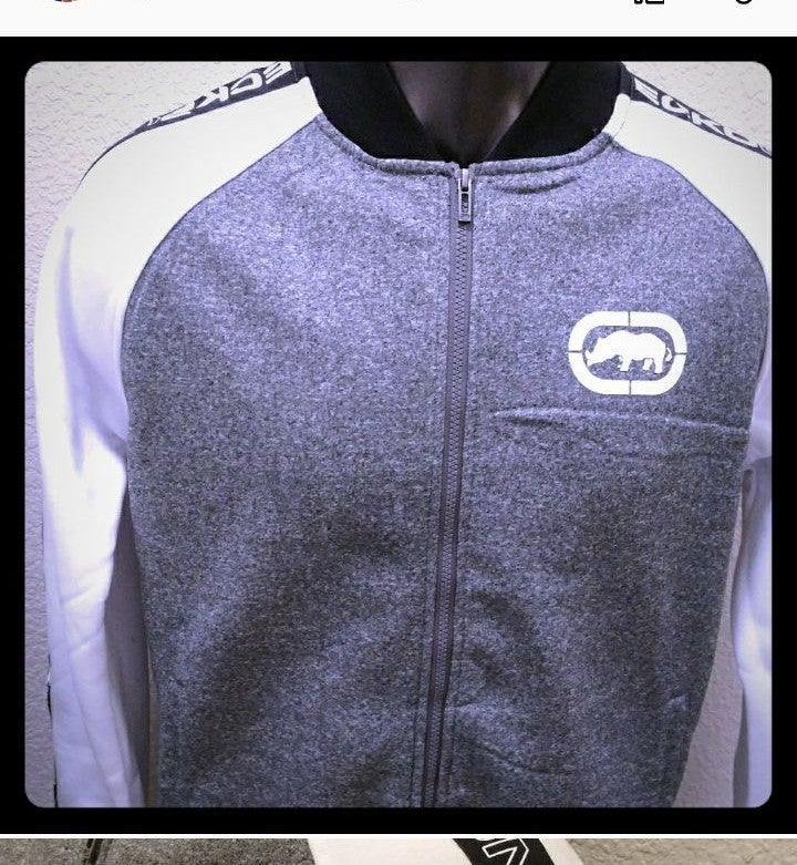 Ecko Unltd. Track Jacket Full Zip New
