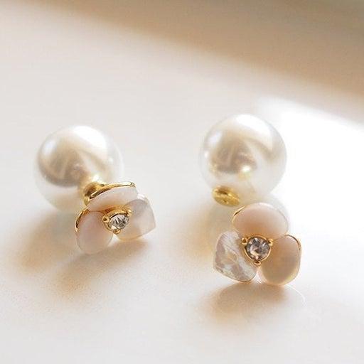 Kate Spade Flower Reversible Earrings