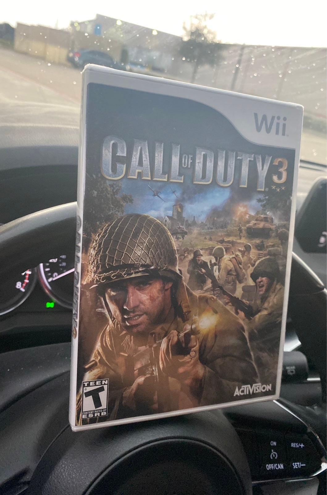 Call of Duty 3 on Nintendo Wii new