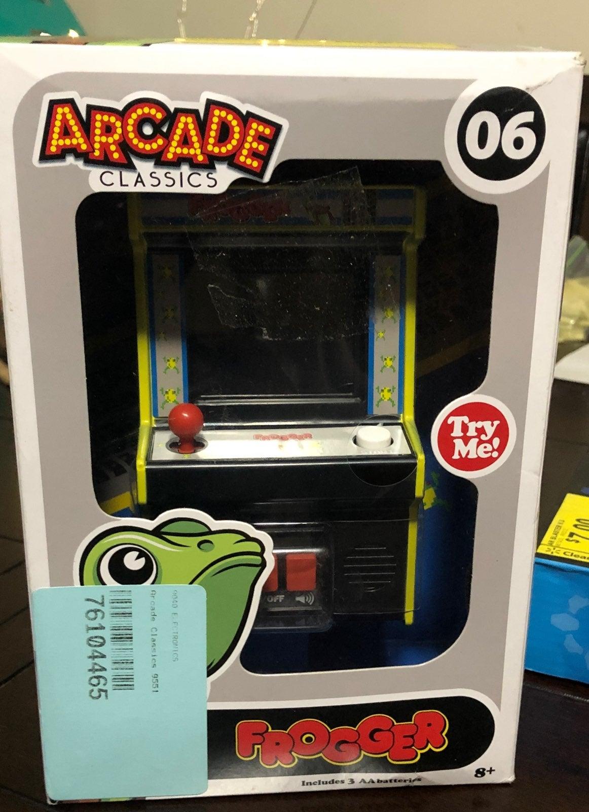Arcade classics frogger