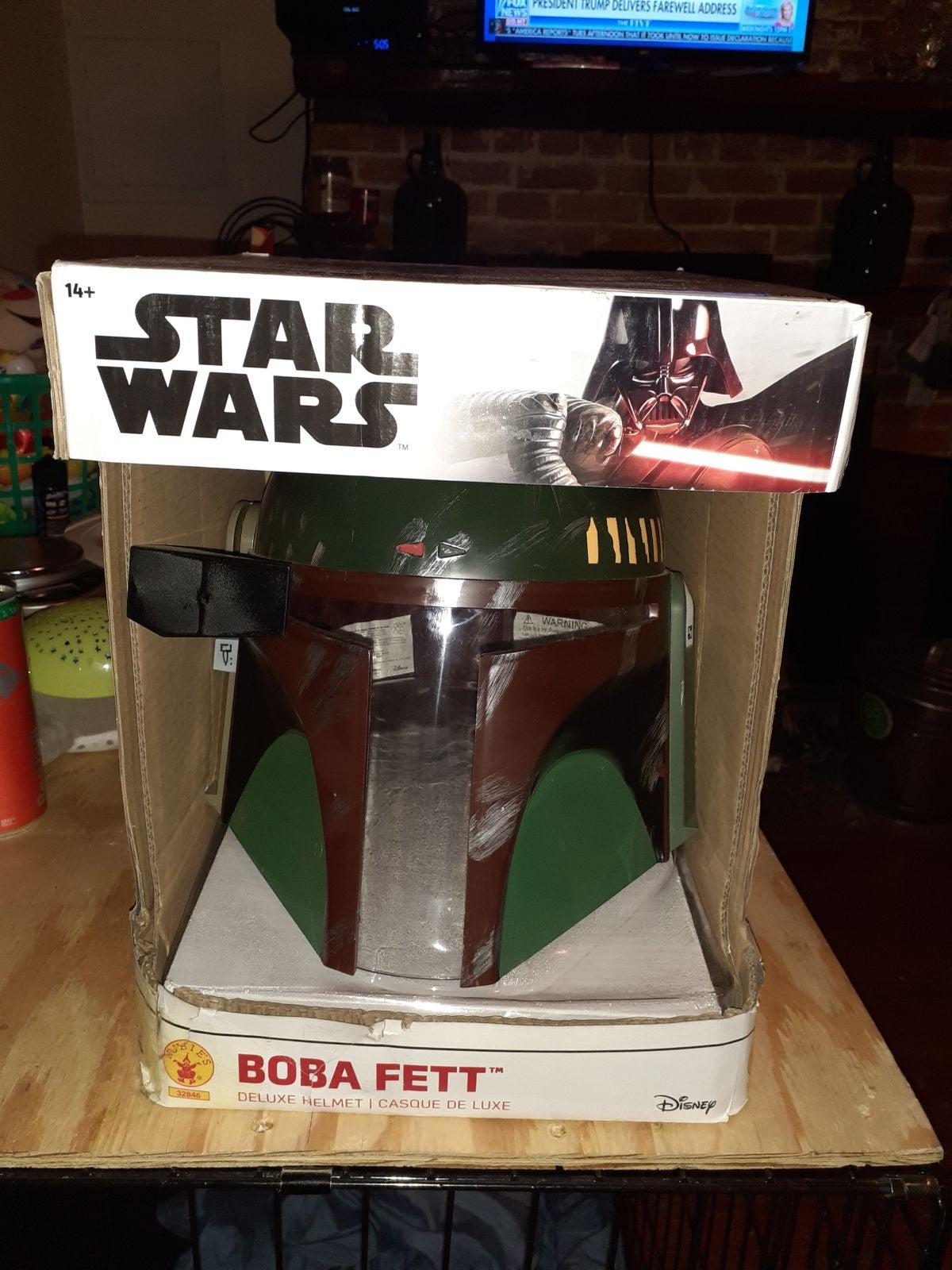 STAR WARS Rubies BOBA FETT Deluxe Adult
