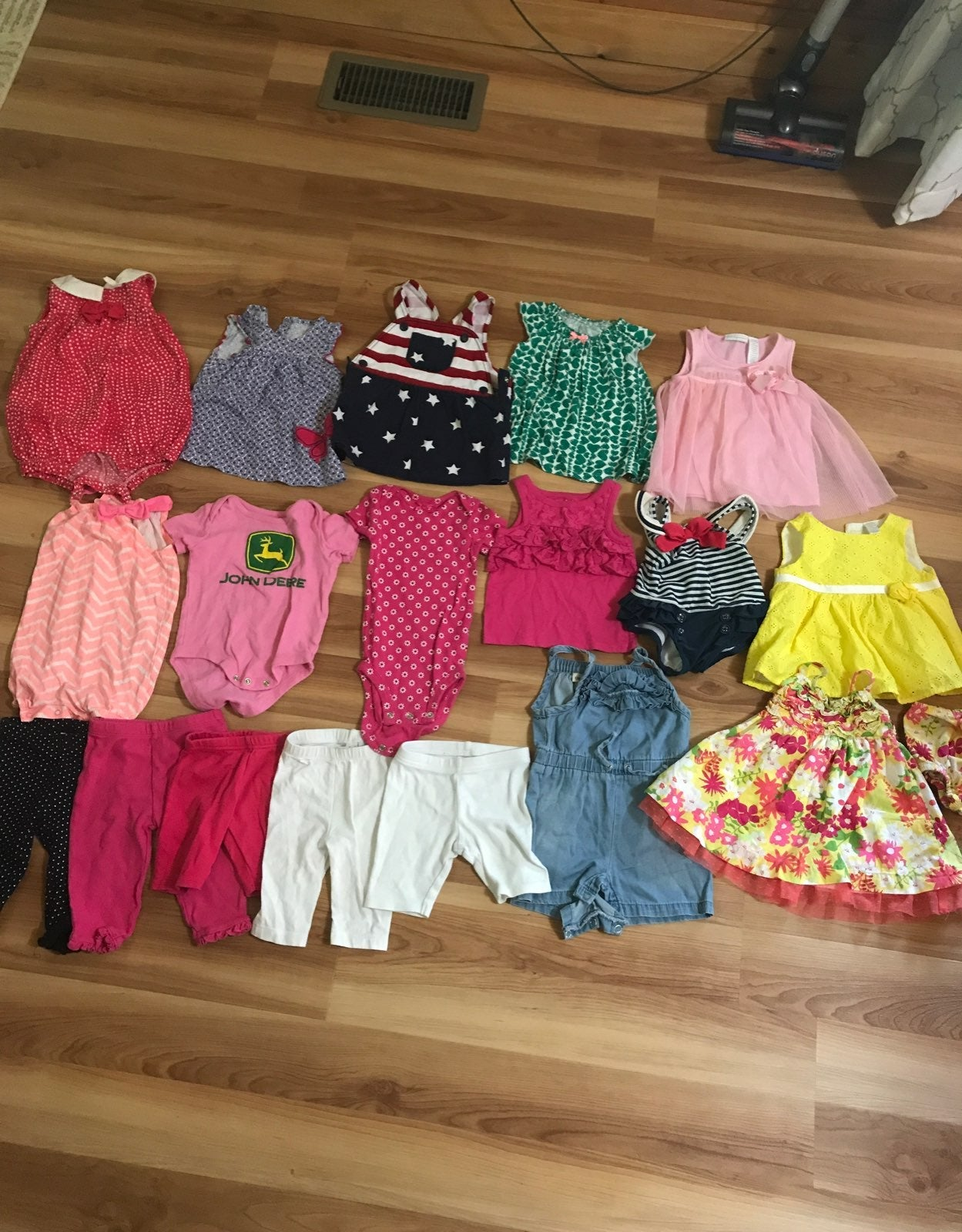 3-6 month summer girl clothes