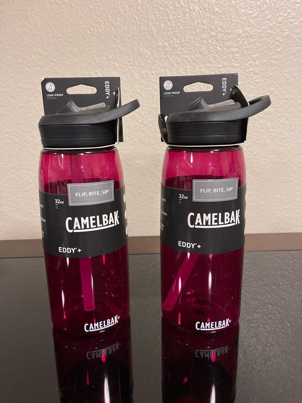 (2) Camelbak Eddy Plus Water Bottle 32oz
