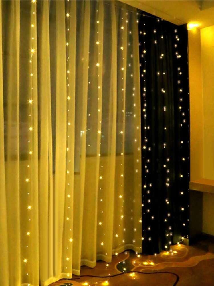 Led curtain lights hang anywhere