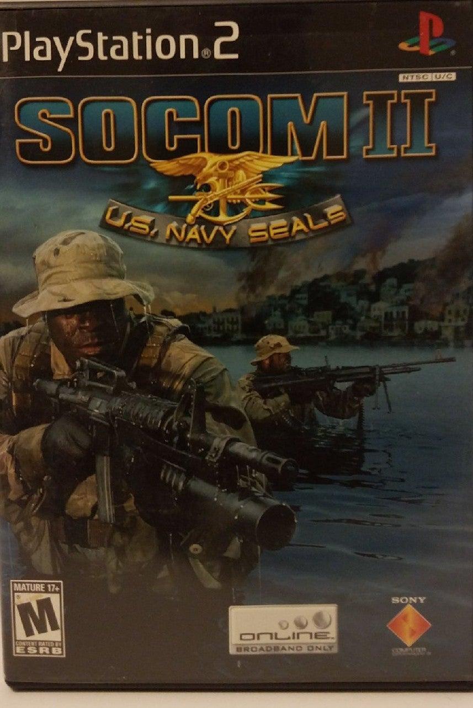 SOCOM II U.S. Navy Seals on Playstation