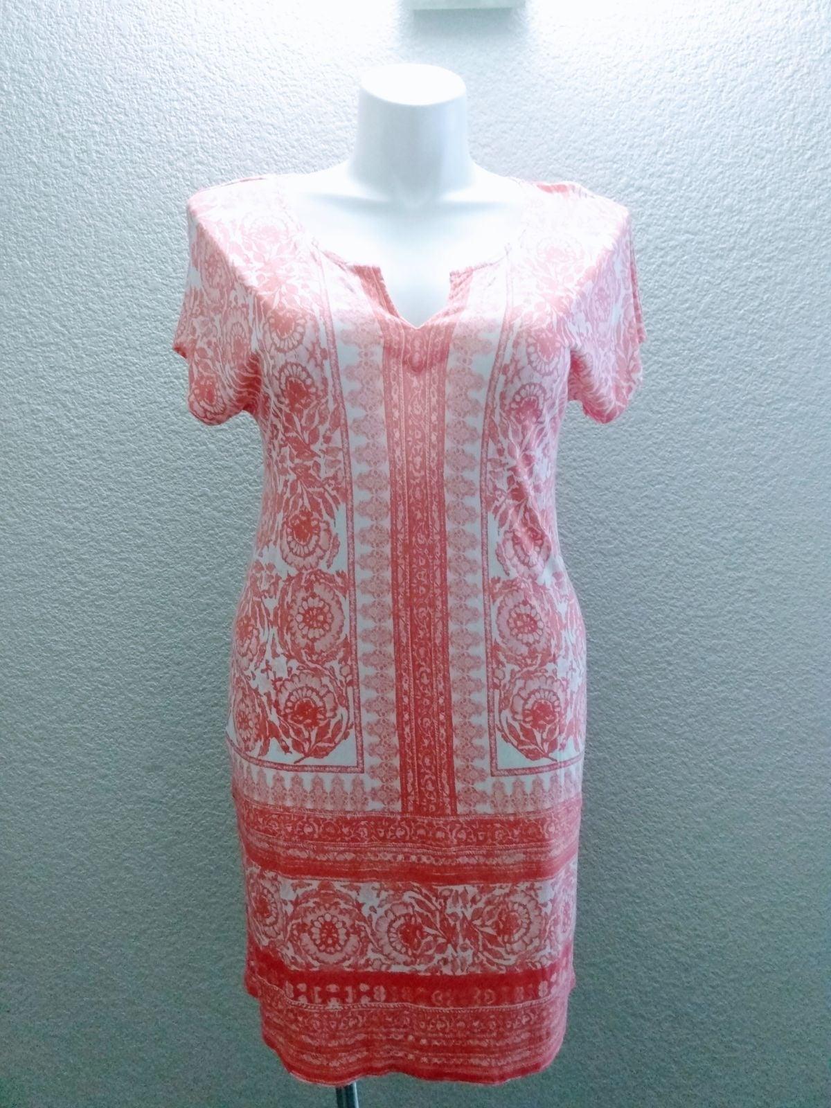 NWOT Lucky Brand T-Shirt Boho dress sz M