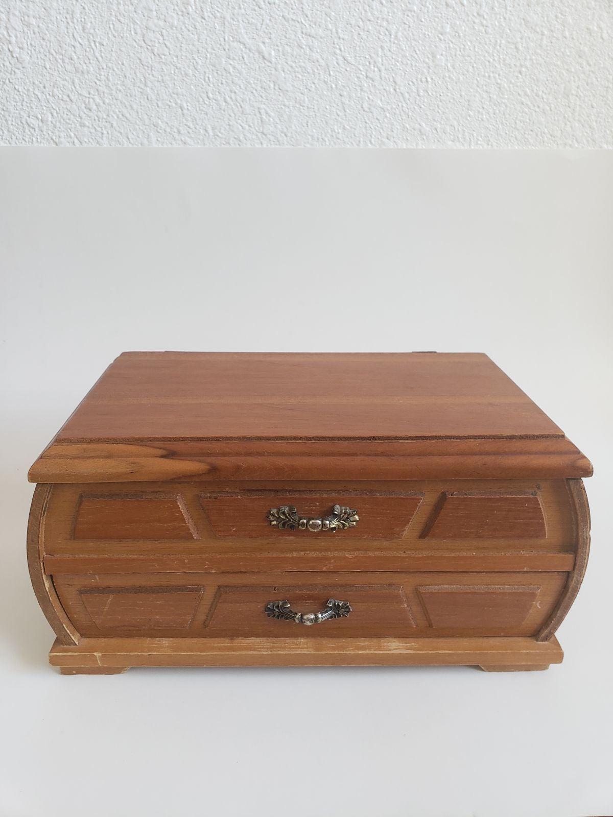 Midcentury Solid Wood  Mini Dresser