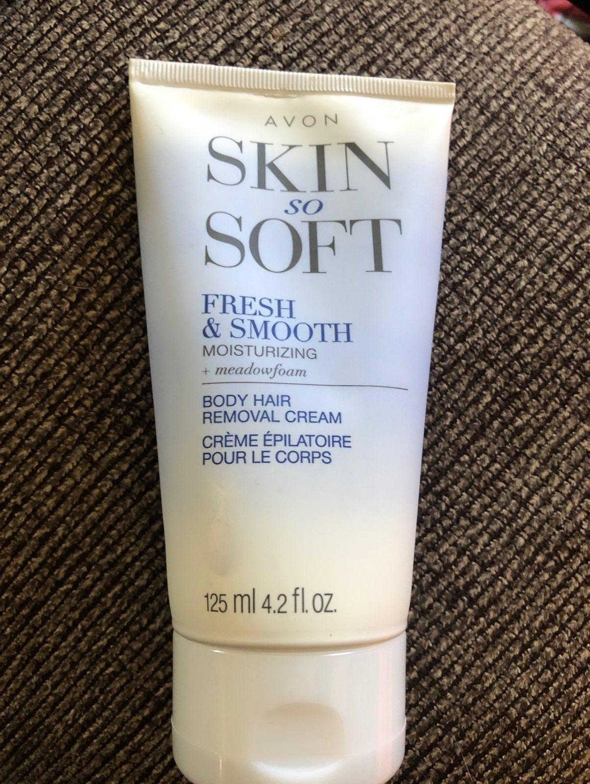 Avon Skin so Soft body hair removal crea