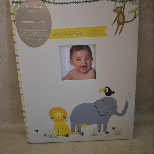 Baby milestone book