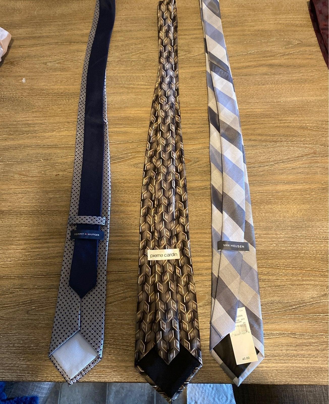 3 Neck Ties