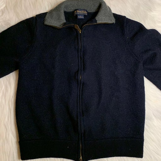 Brooks Brothers Merino Wool Zip Sweater