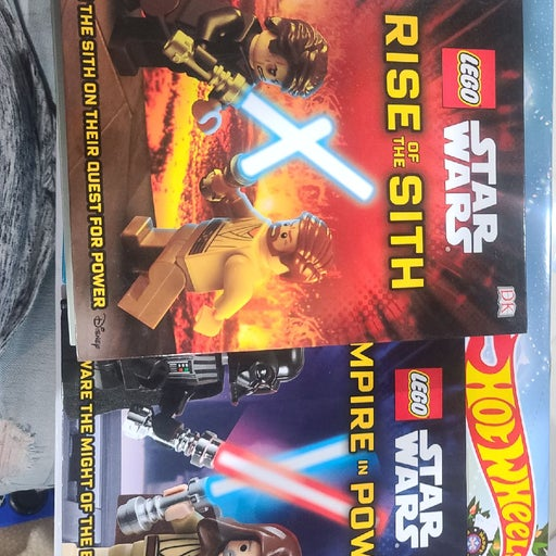 Lego Star Wars 9 Books Collection