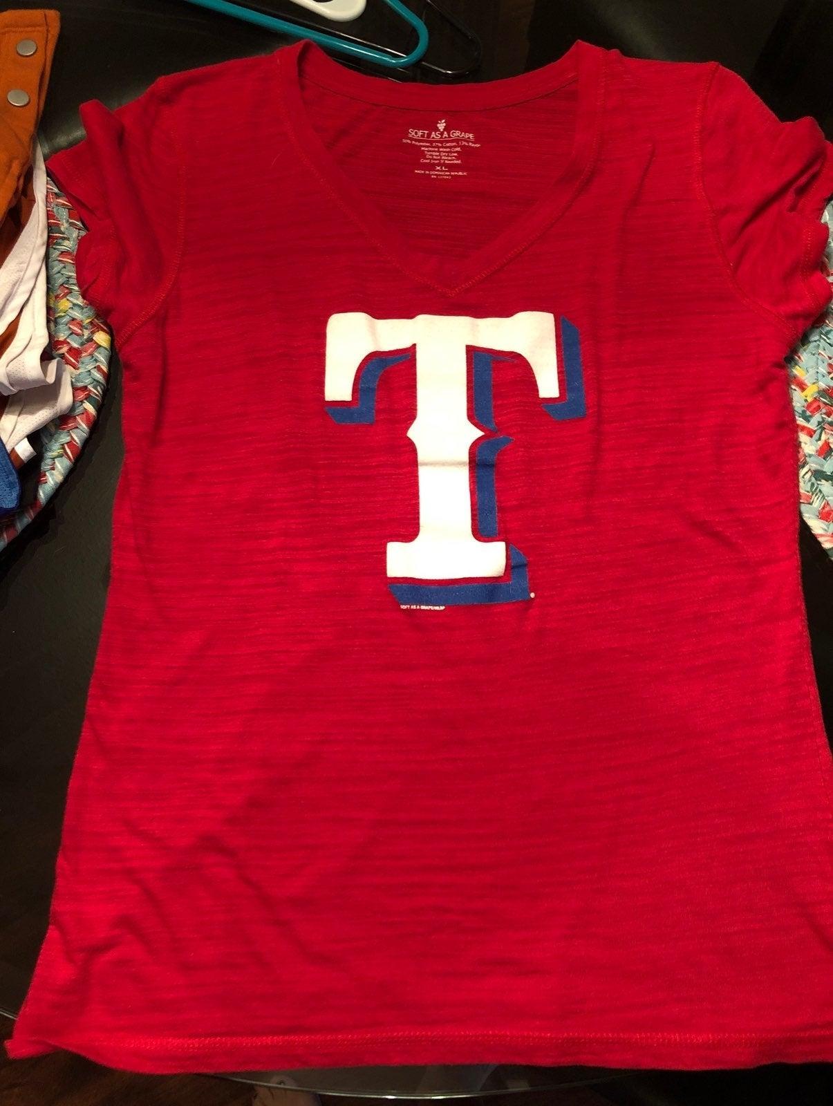 Womens Texas Rangera shirt
