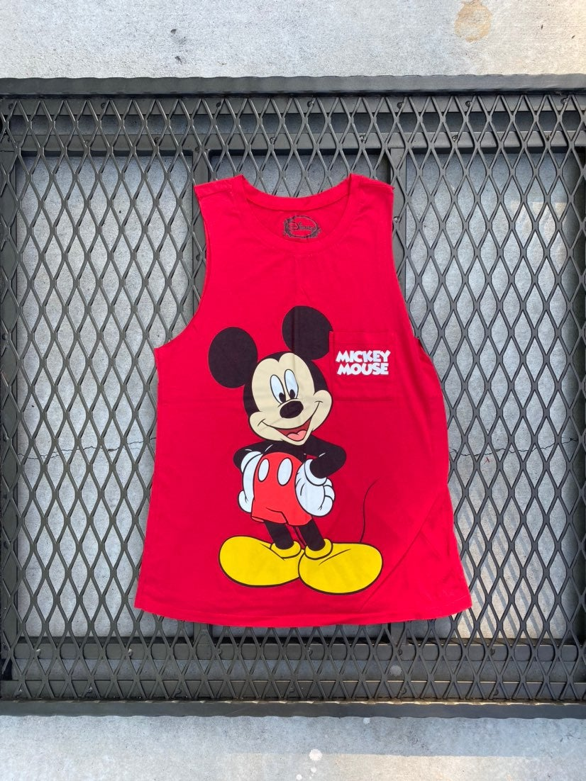 Mickey Mouse Red Pocket Tank