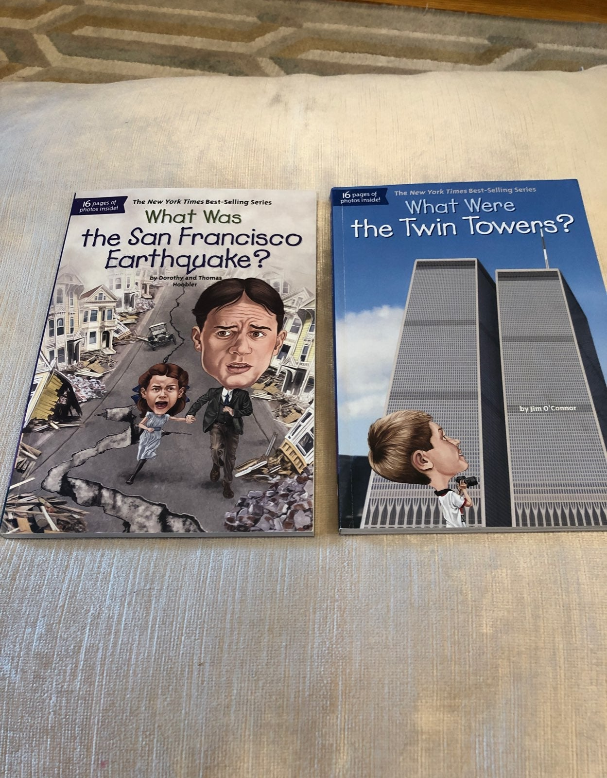What was books: twin towers & San Fran E