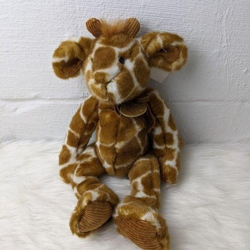 Russ brand Godfrey plush giraffe toy