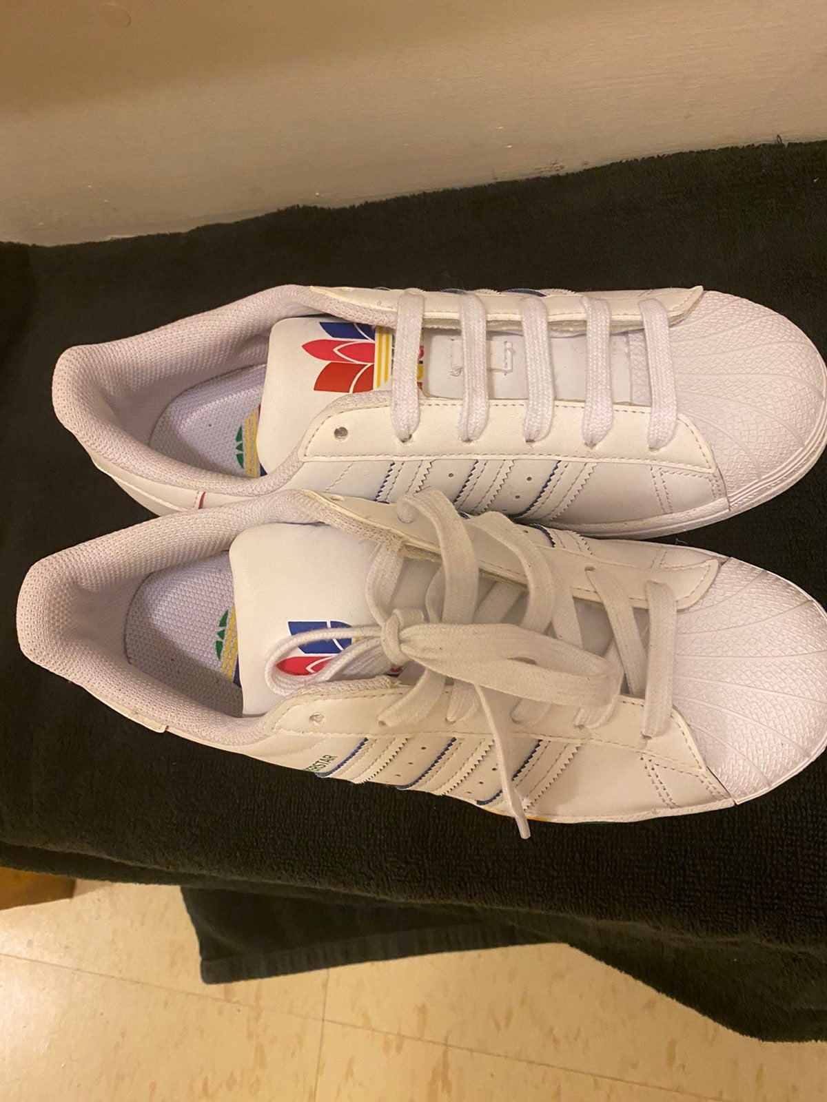 Adidas 3-Stripes Pride Colors Sneakers
