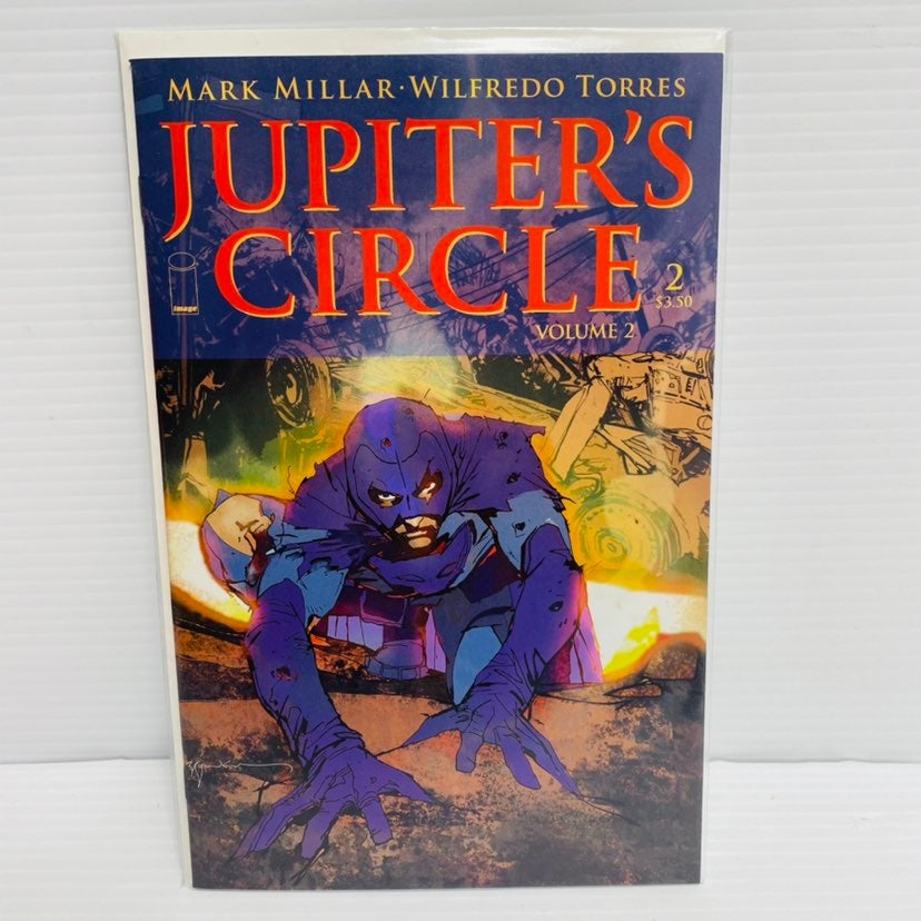 Jupiter's Circle #2A 2015 Volume 2 St