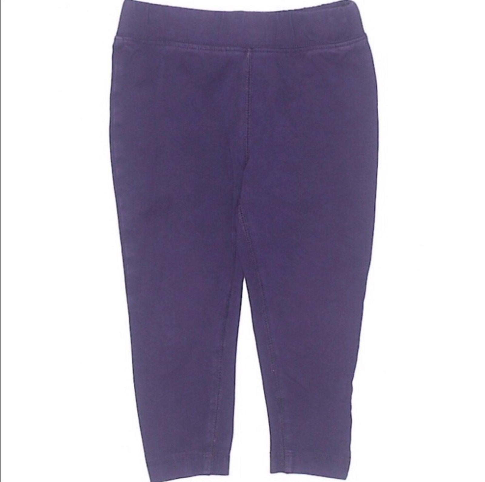 Primary Purple Leggings Girls Size 2T
