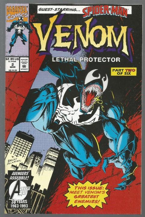 VENOM #2 High Grade  Spider-man Marvel