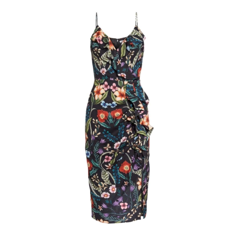 Gardenia Ruffle Midi Dress COOPER ST
