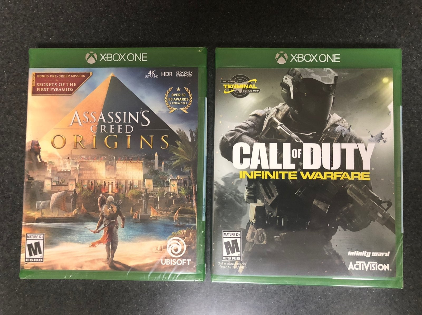 XBOX ONE Assassins Creed & Call of Duty