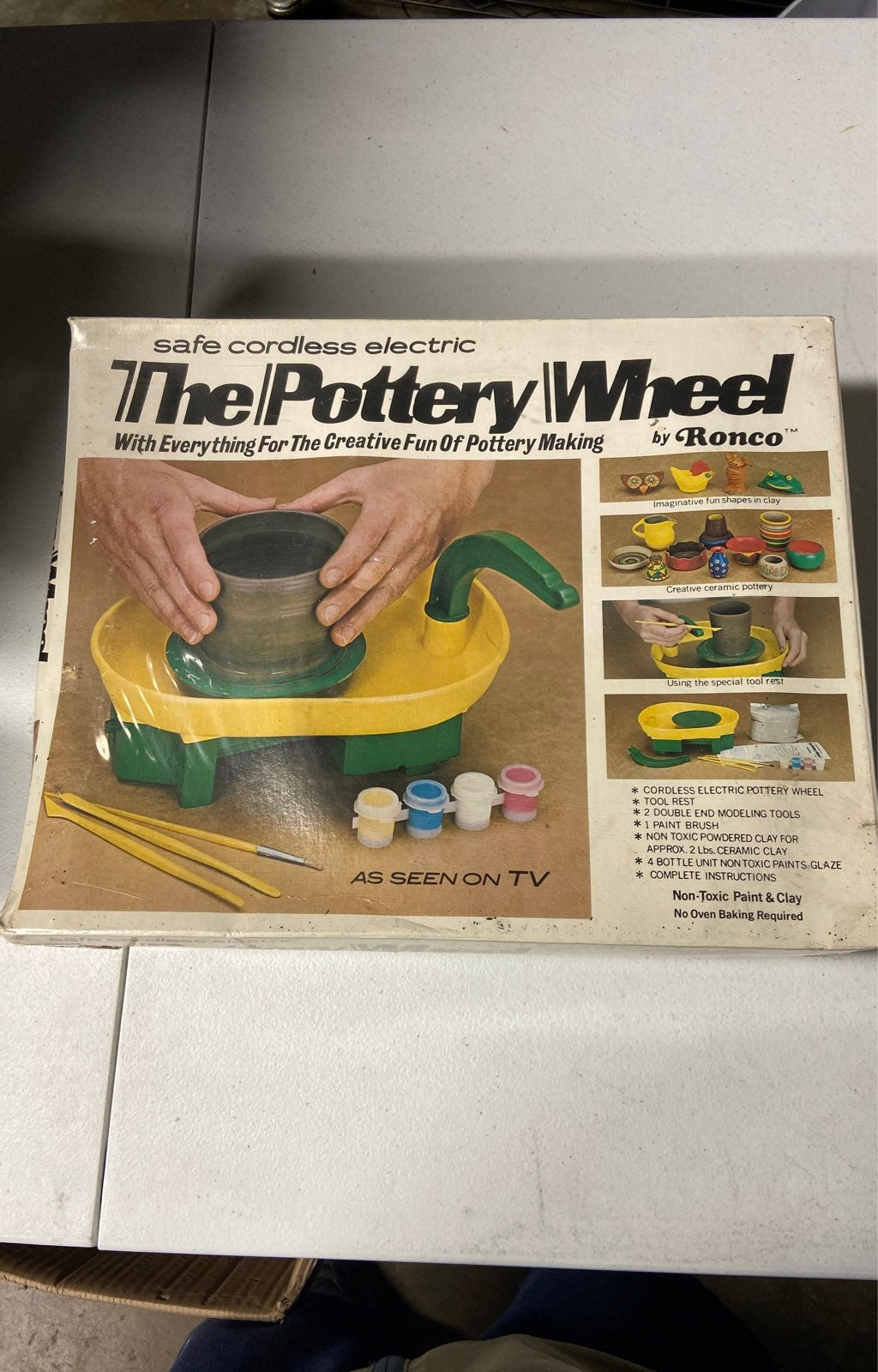 VTG Pottery Wheel By Ronco Sealed