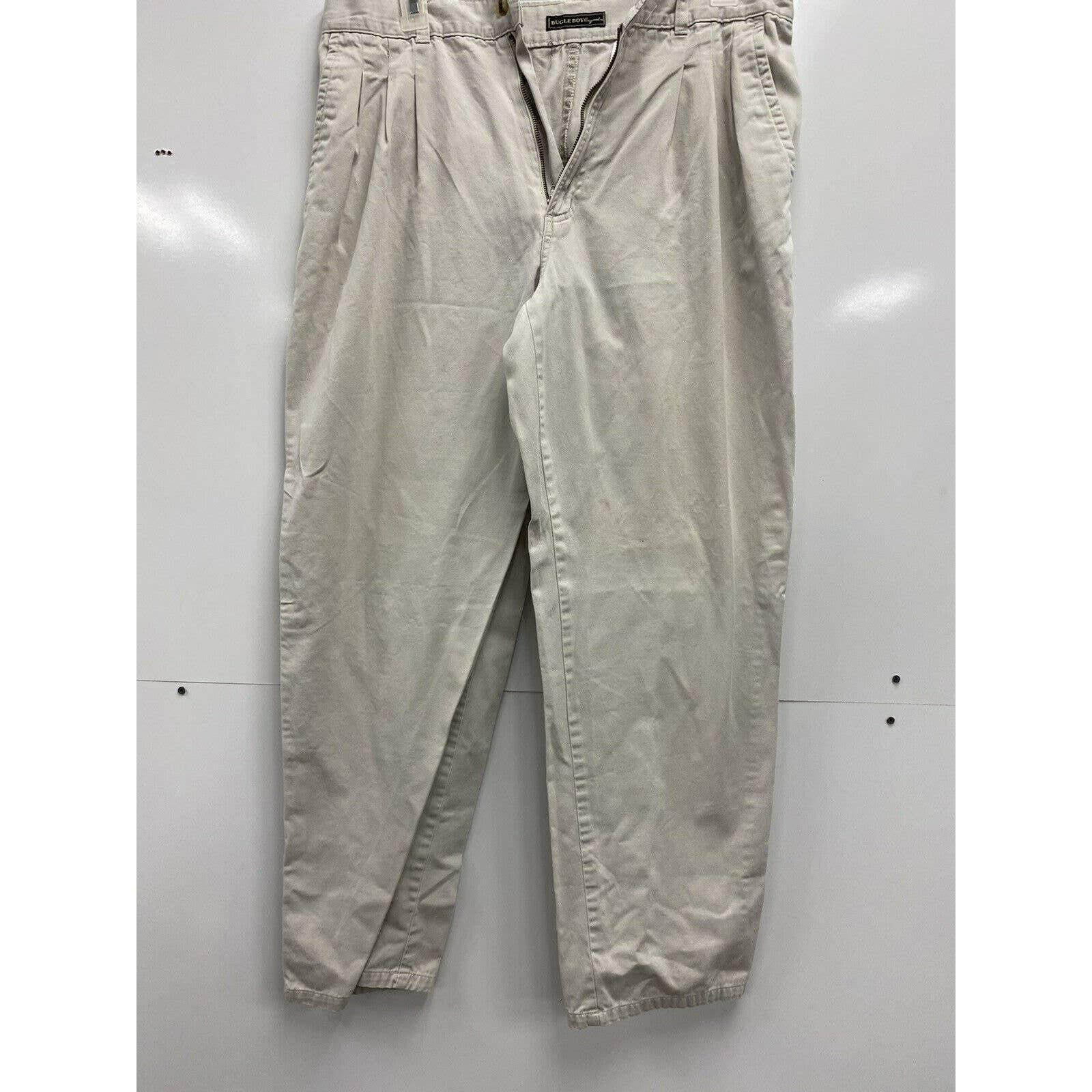 Bugle Boy Khaki Pants 36x32