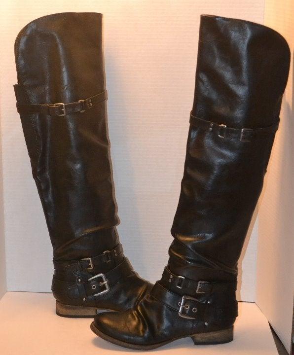 Women's Whitney Over the Knee Boot Black