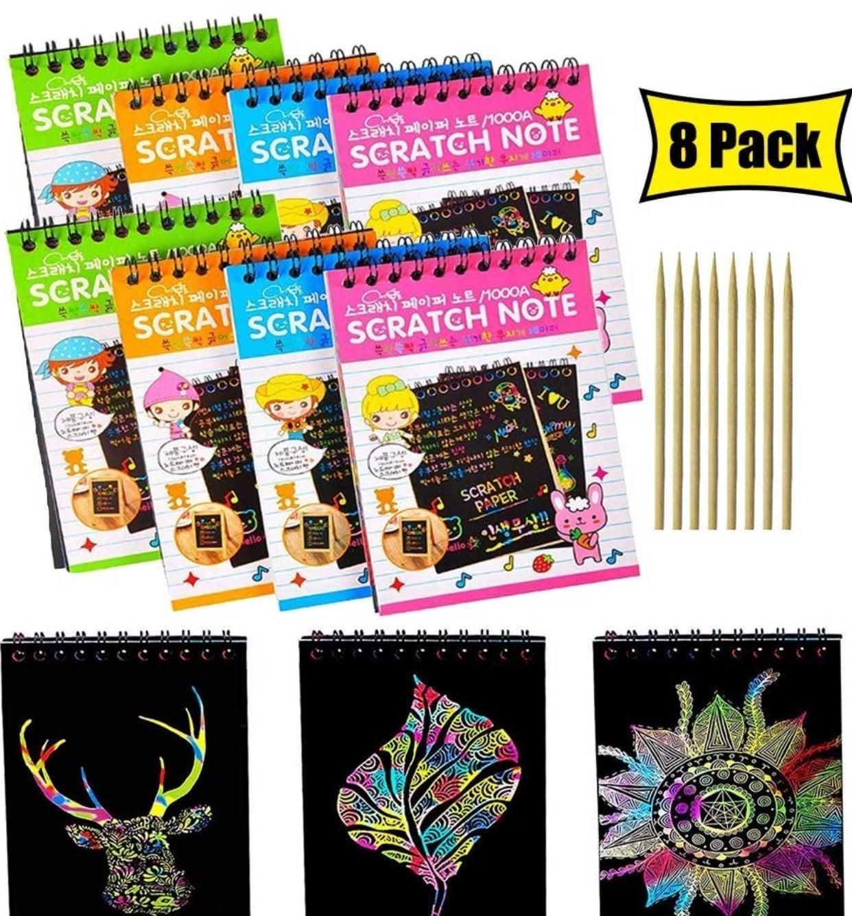 Scratch pad art (3 pack)