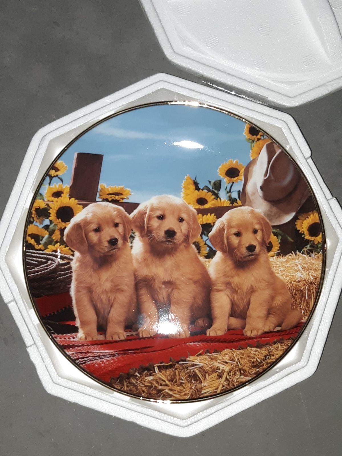 Good As Gold Vintage 1995 Franklin Plate