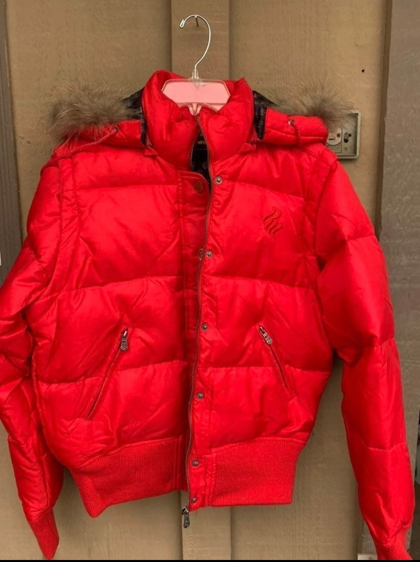 Rocawear  Puffer Down Jacket With Faux F