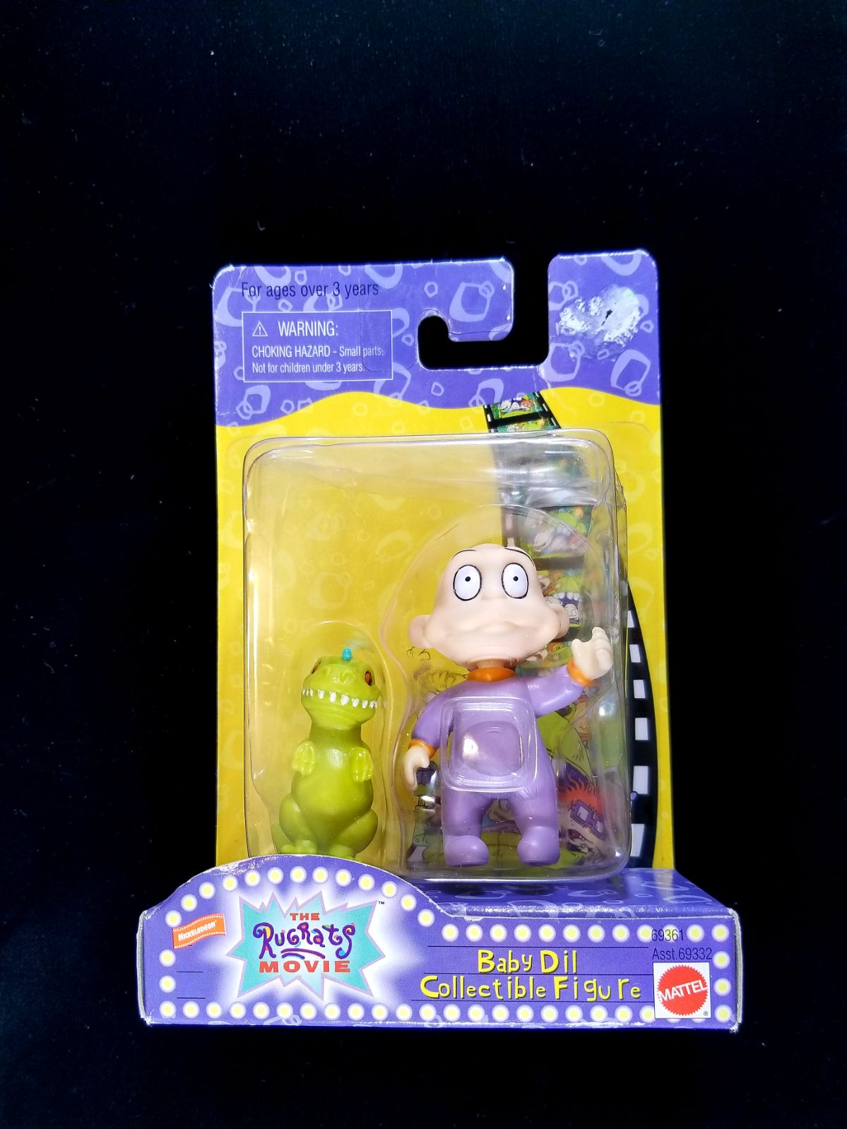 Nickelodeon Rugrats Baby Dil Figure '98